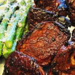 Pork Tenderloin and Roasted Asparagus