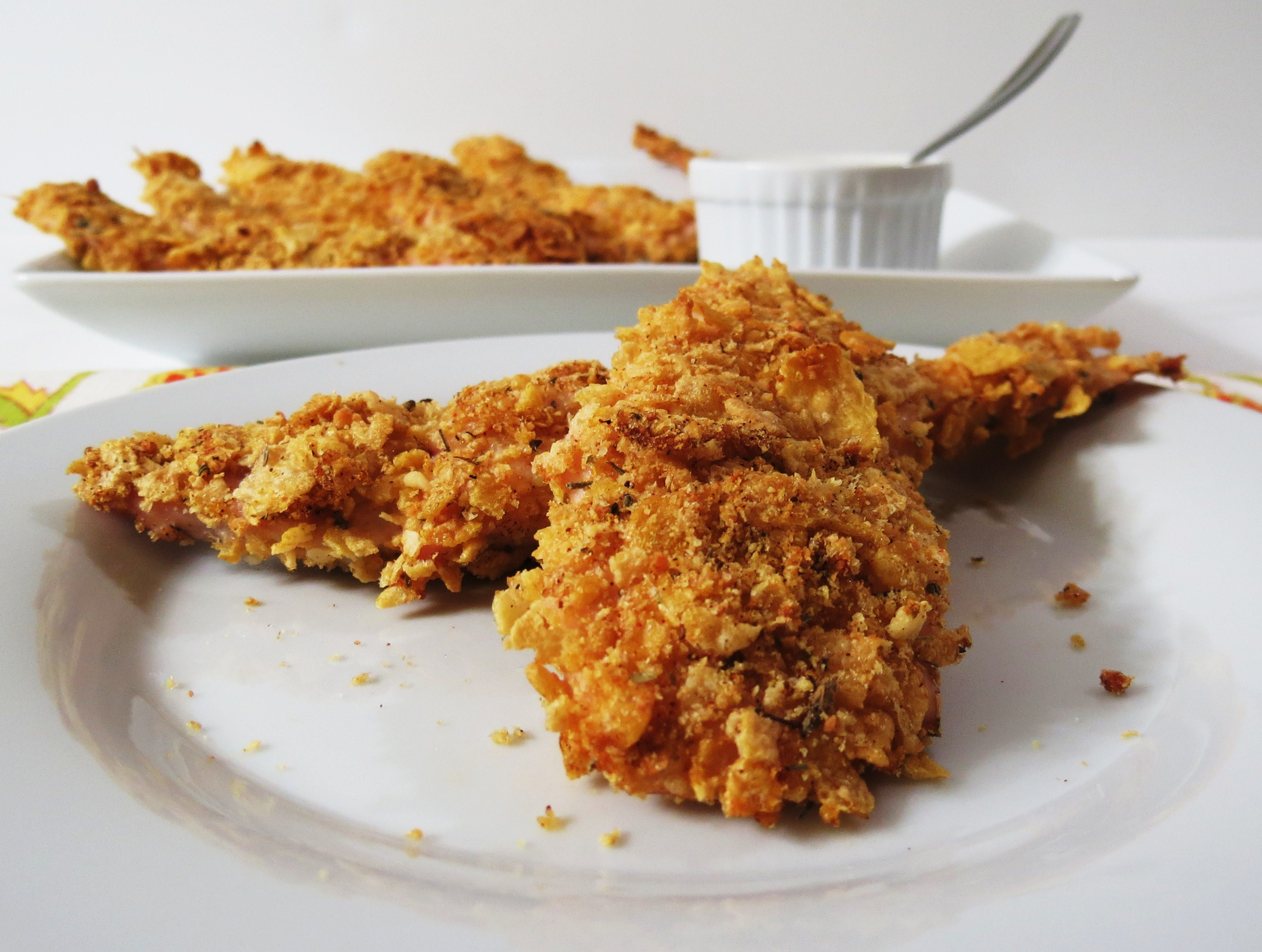 Breaded Chicken Fingers | Peanut Butter and Peppers