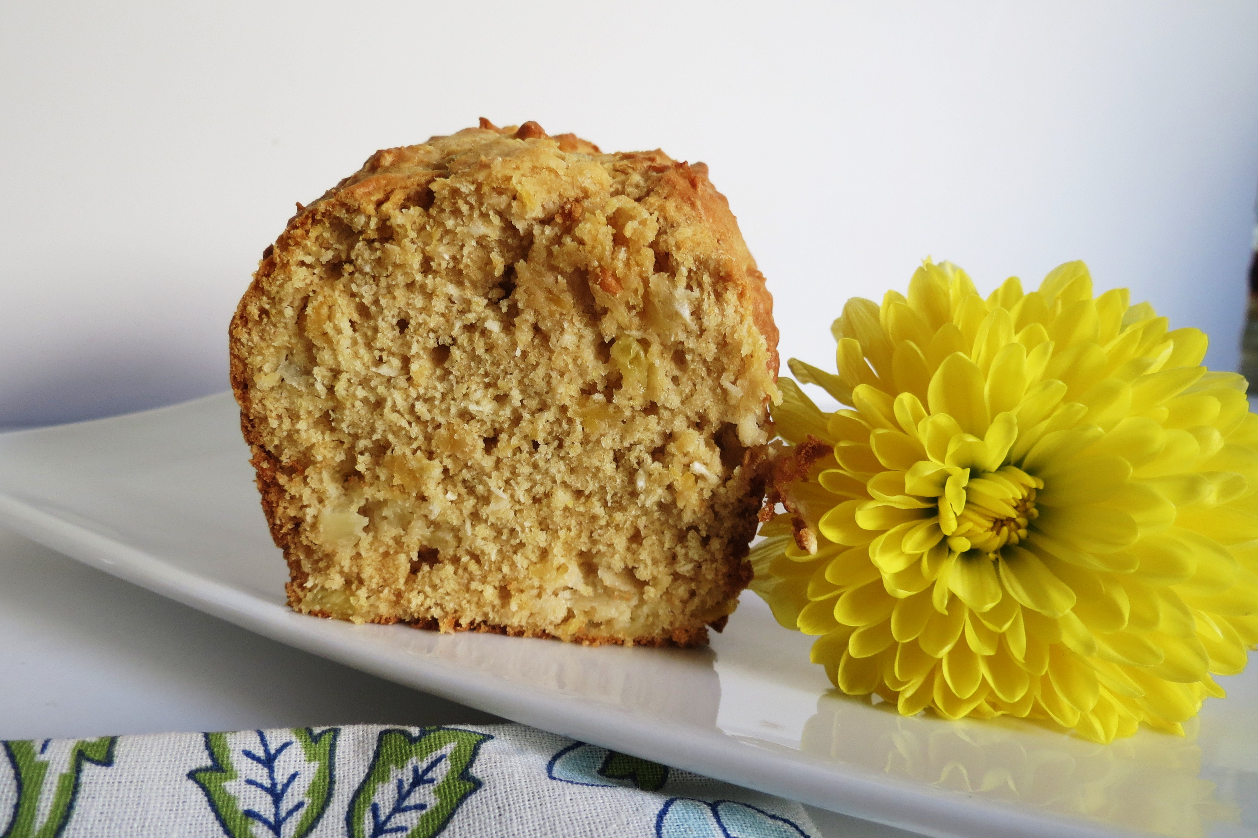 Pineapple Coconut Bread | Peanut Butter and Peppers