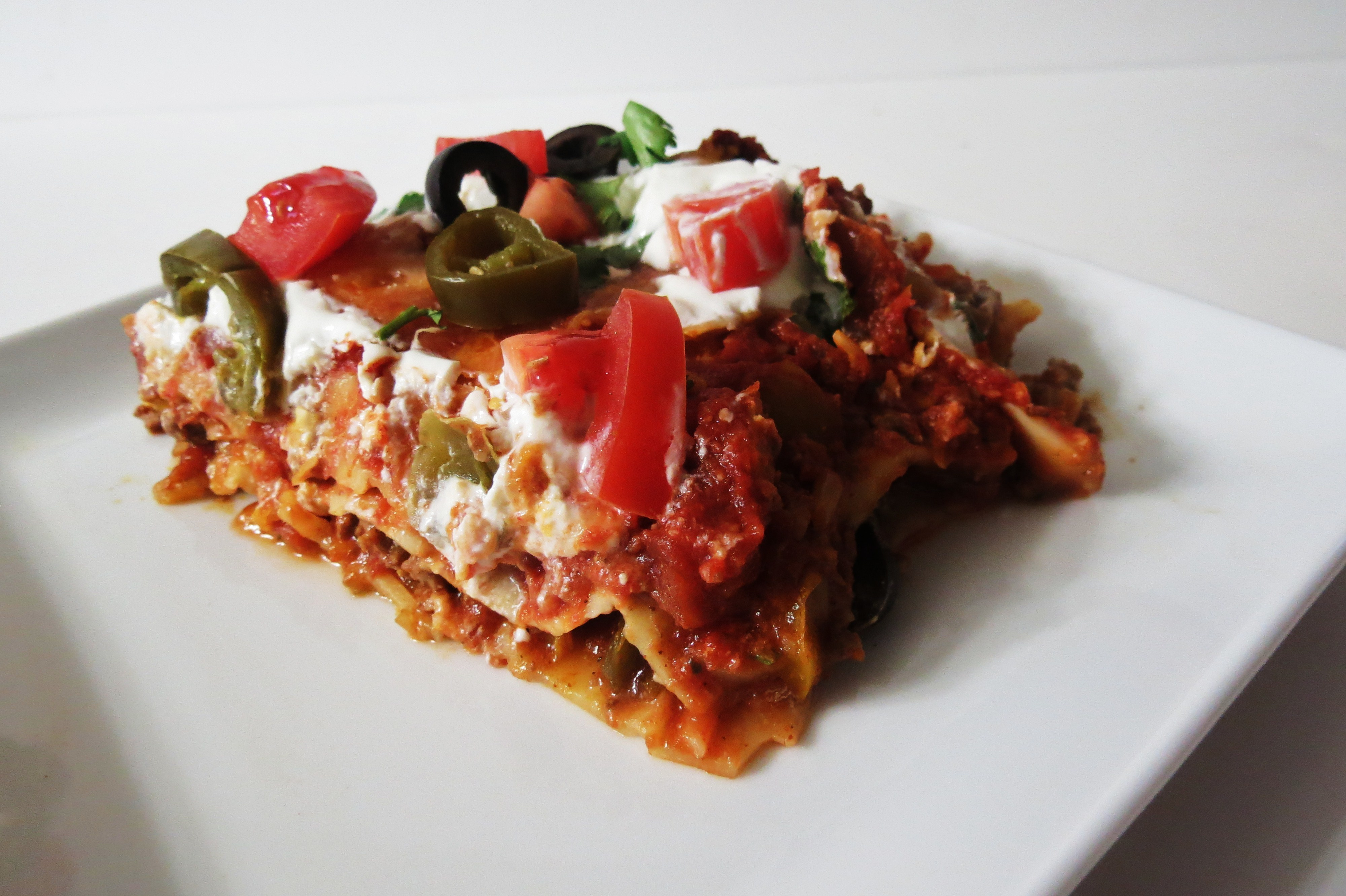 Taco Lasagna Recipe — Dishmaps