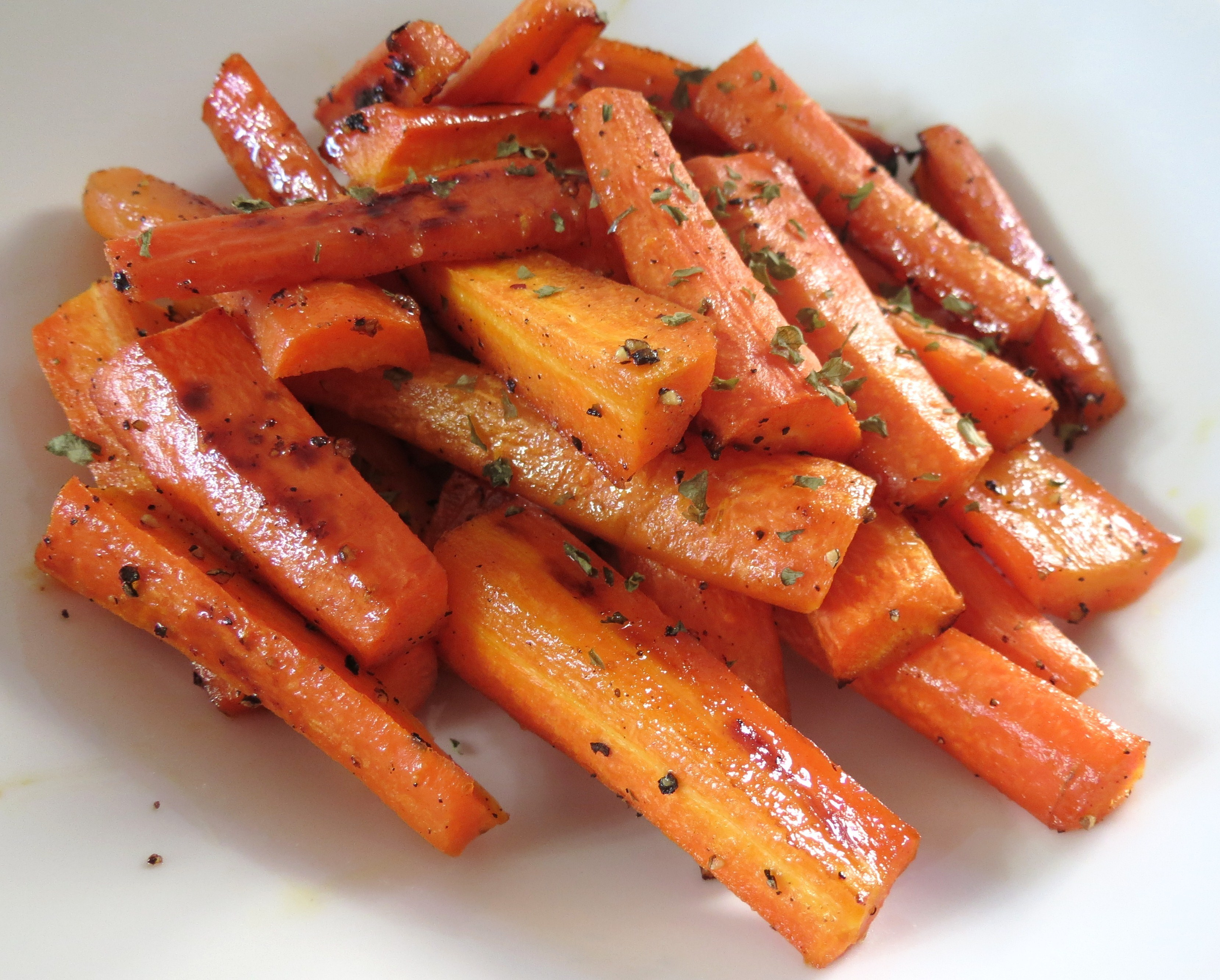 Honey Glazed Roasted Carrots
