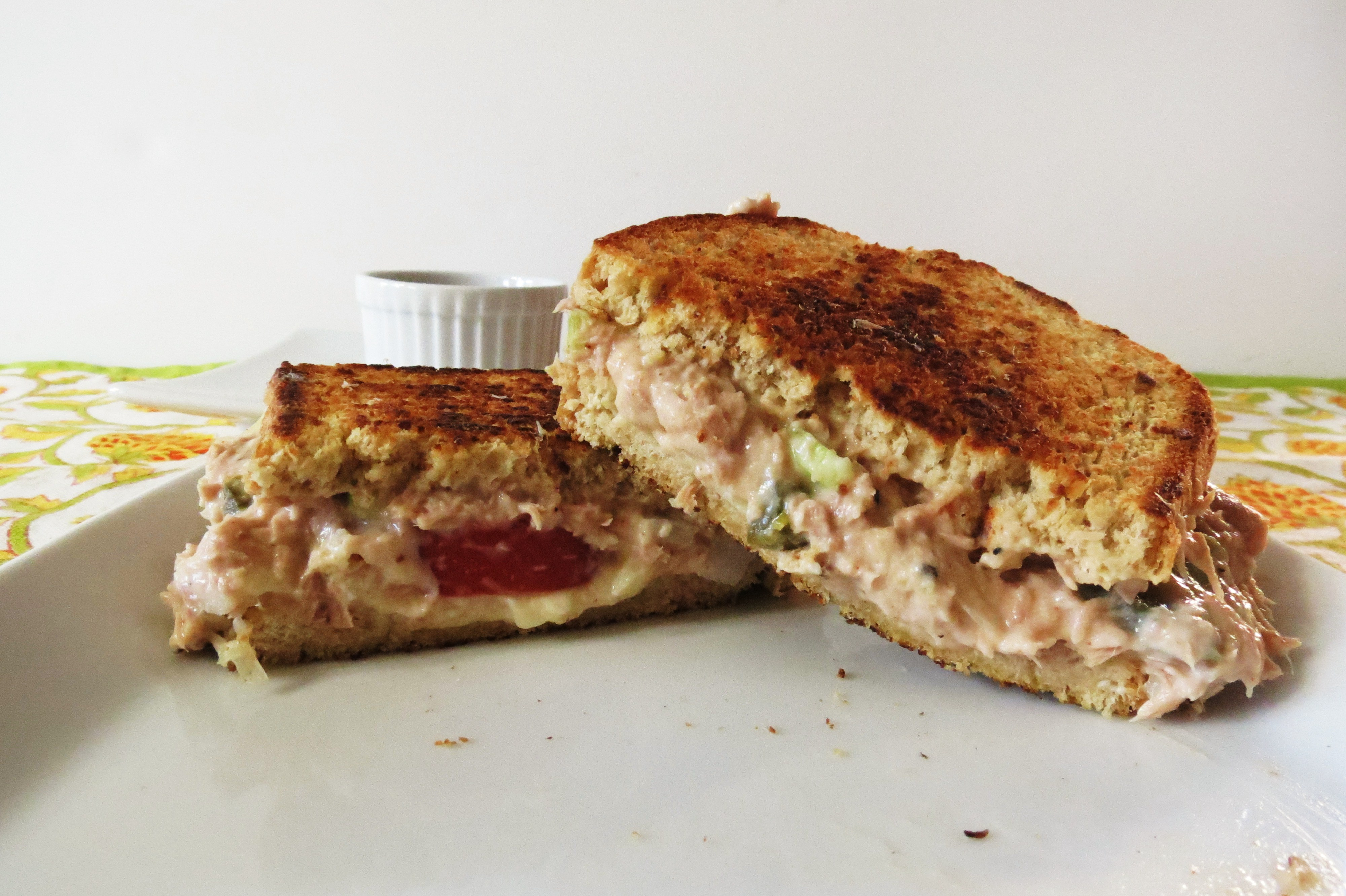 Tuna Melt | Peanut Butter and Peppers