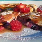 Berry Cheesy Breakfast Quesadilla