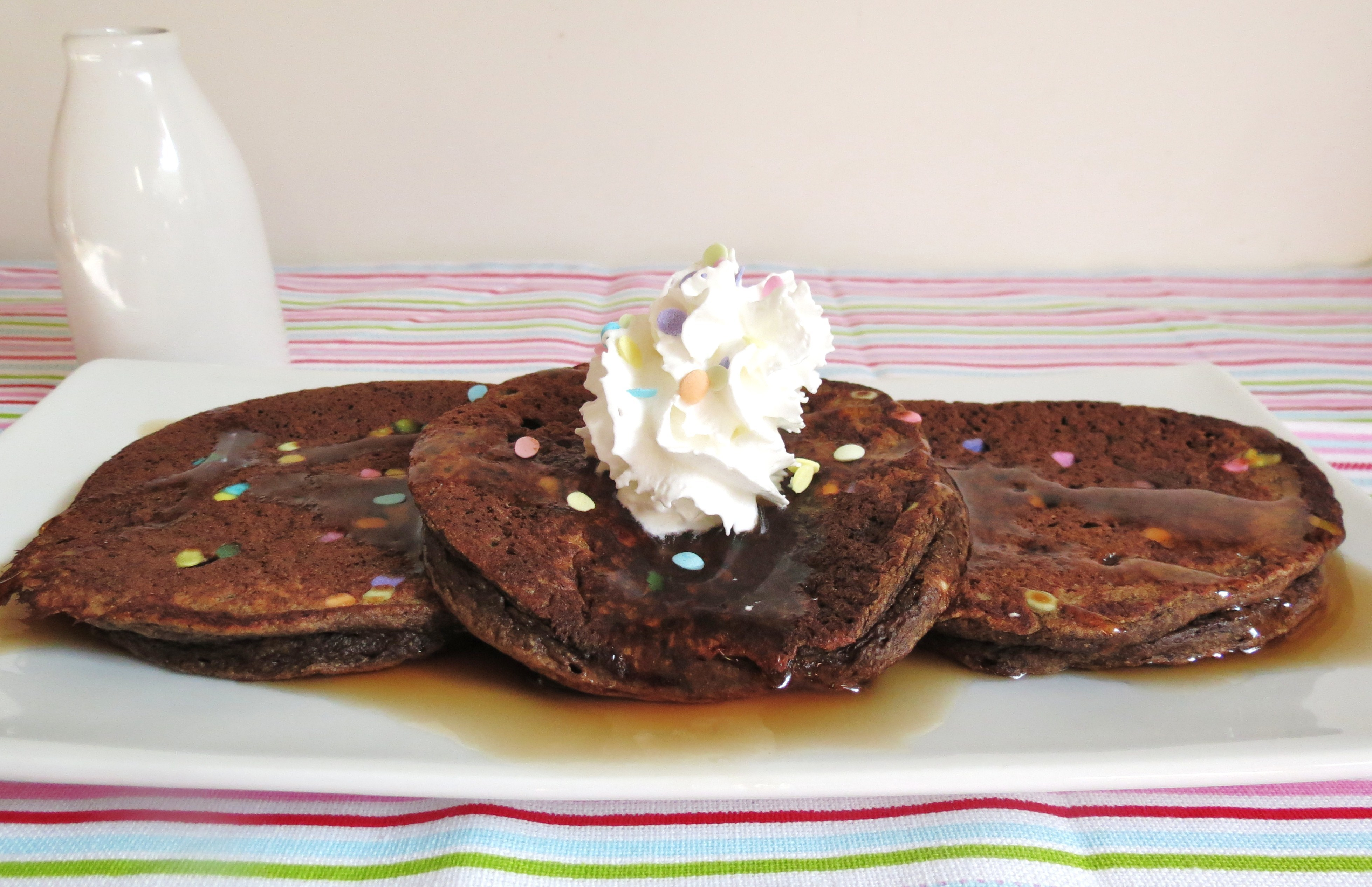 Chocolate Pancakes | Peanut Butter and Peppers