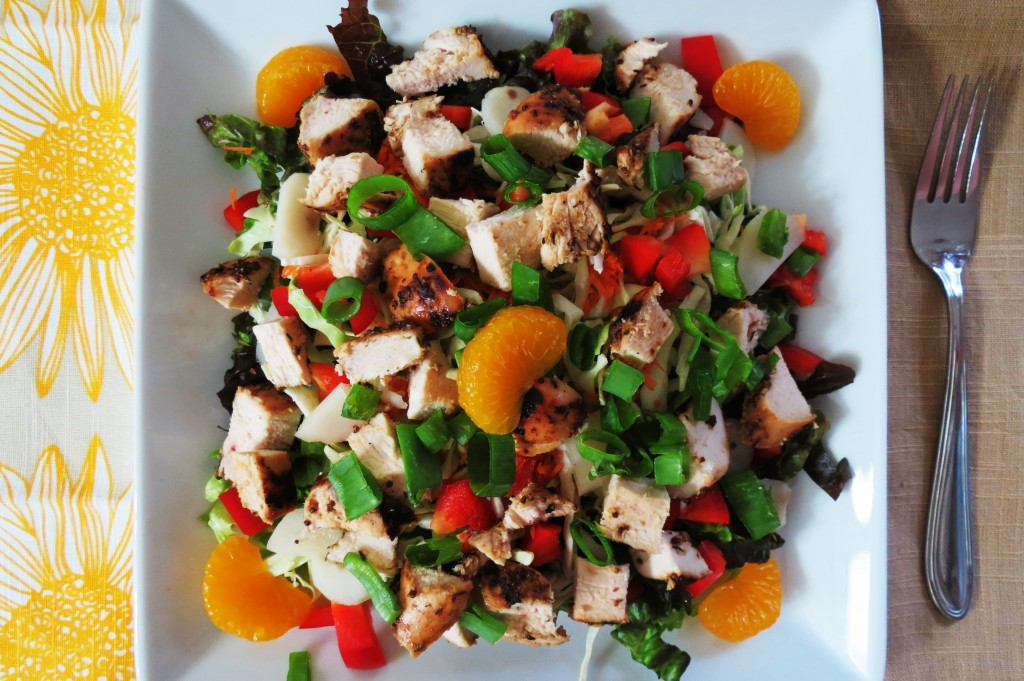 So what is in this salad that made my Husband like it? Lots of good ...