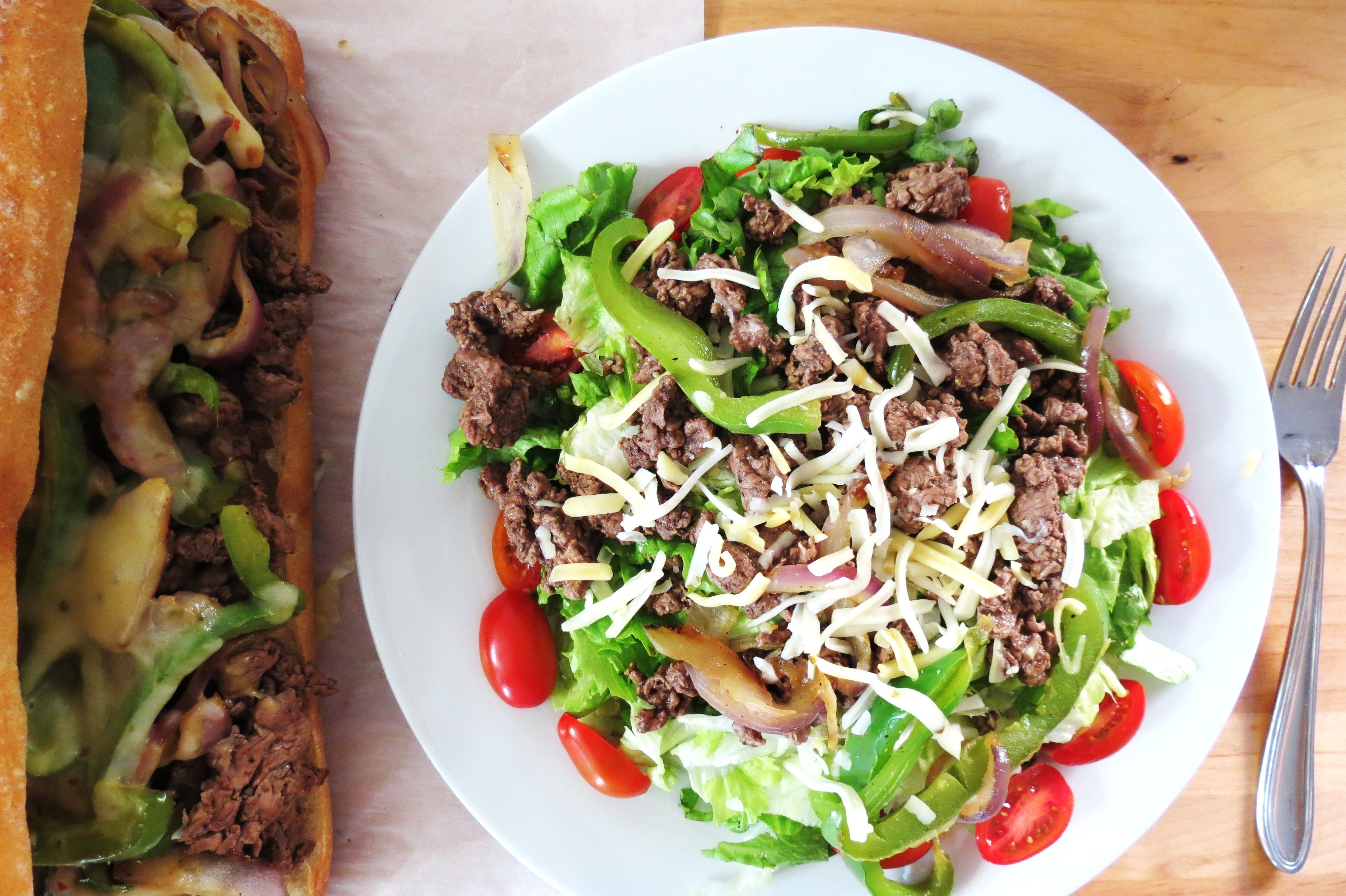 Cheesesteak Salad
