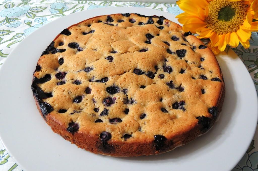 Blueberry Nutmeg Cake