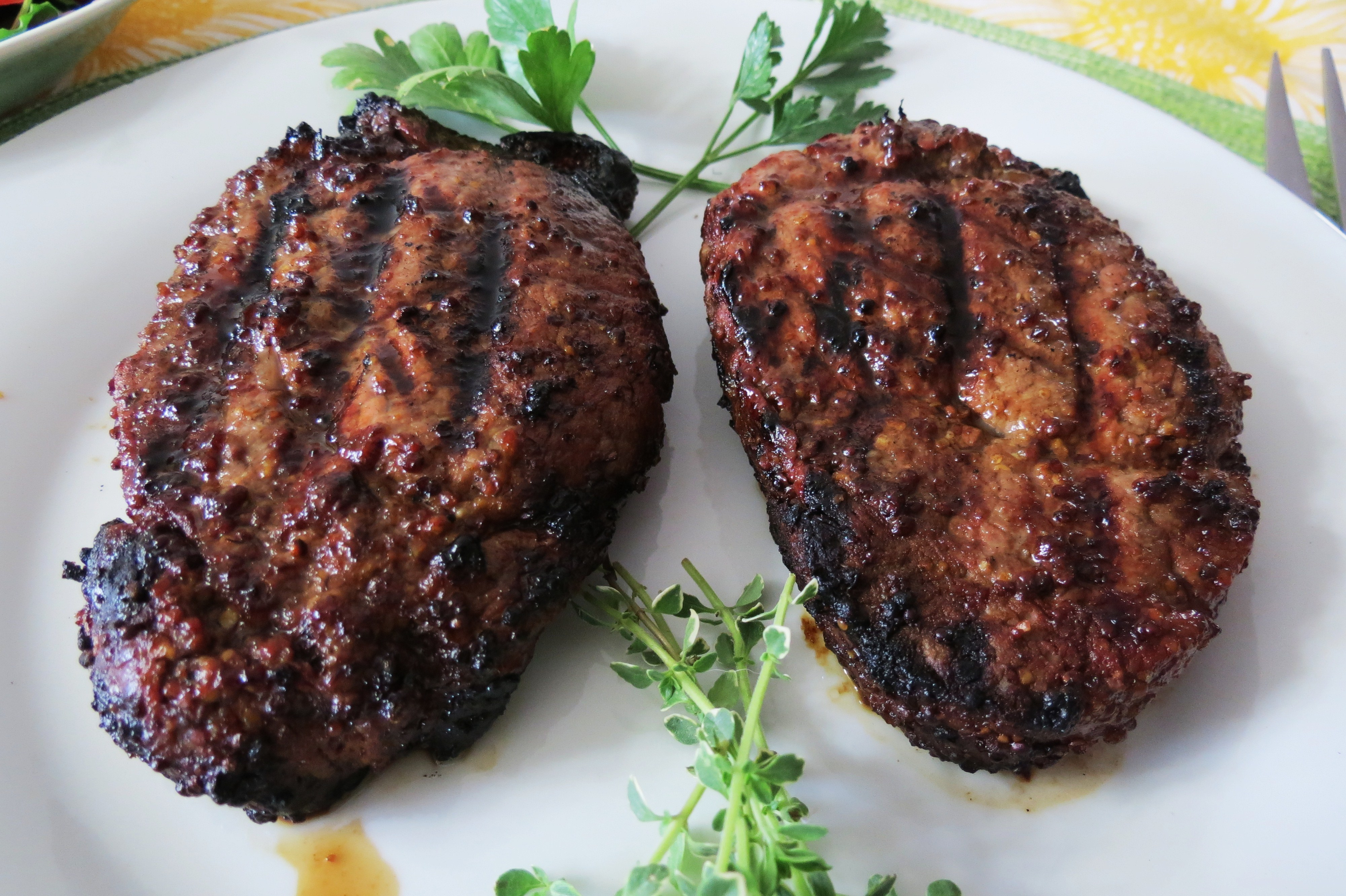 Grilled Filet Mignon | Peanut Butter and Peppers