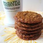 Pina Colada Oatmeal Cookie