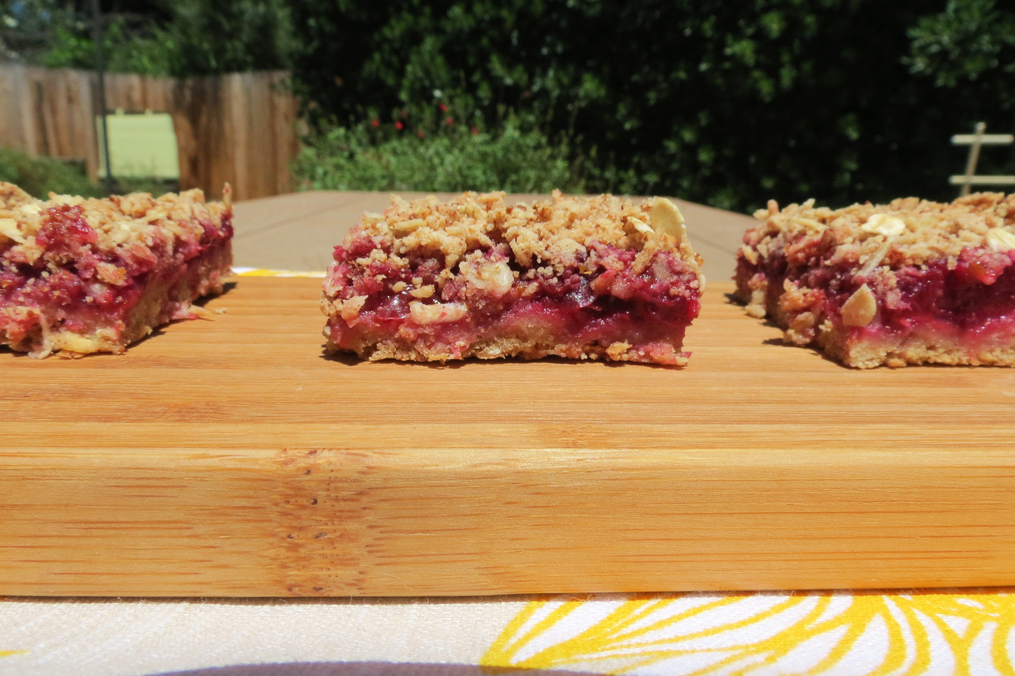 ... coconut almond crumble. Tastes like your biting into a cherry pie