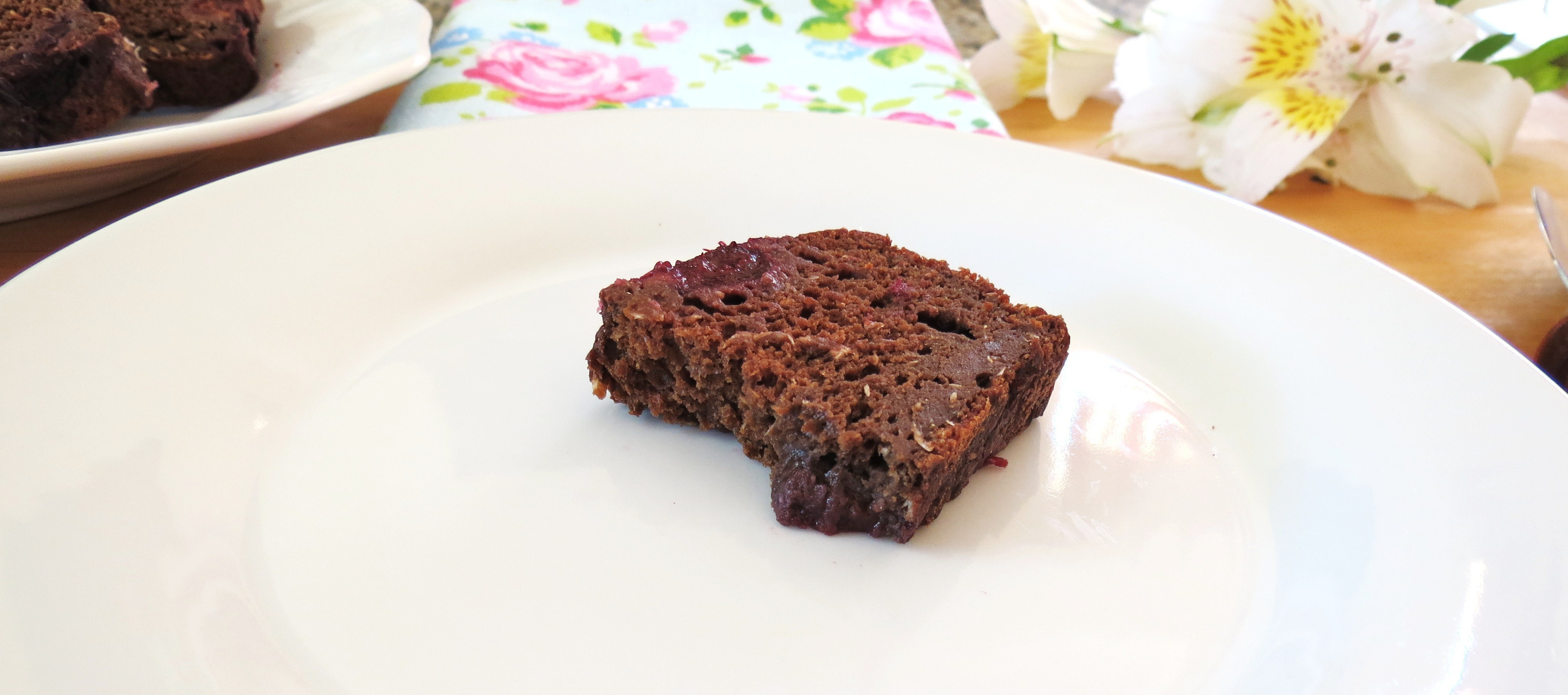Chocolate Cherry Coconut Bread
