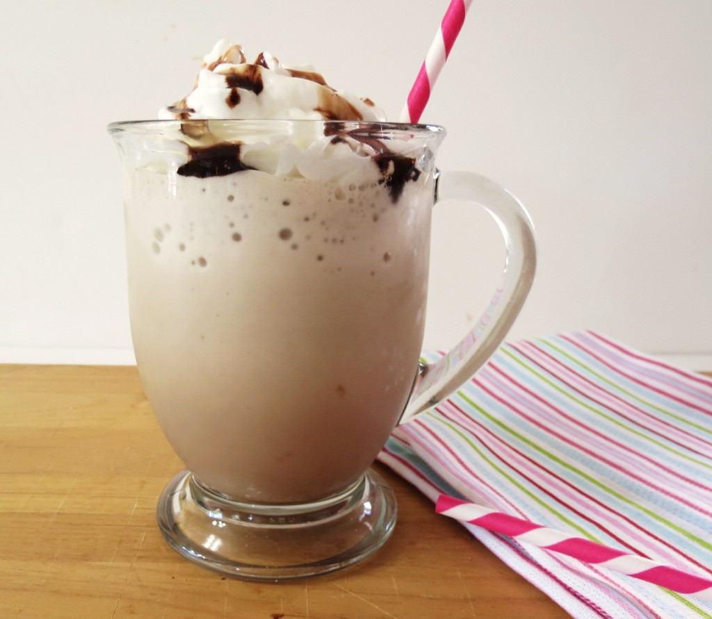 how to make a vanilla frappe at home