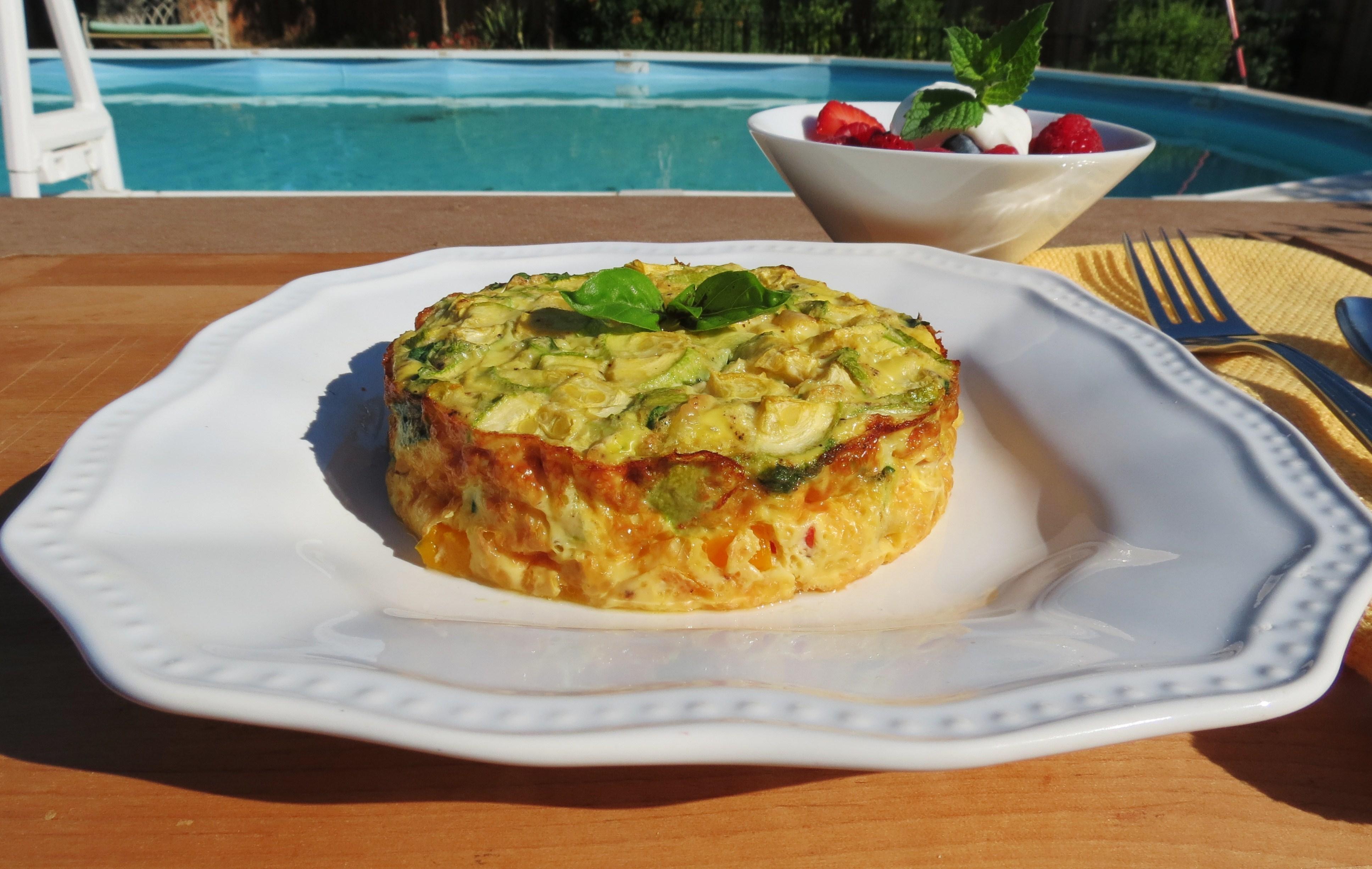 Veggie Garden Egg Bake