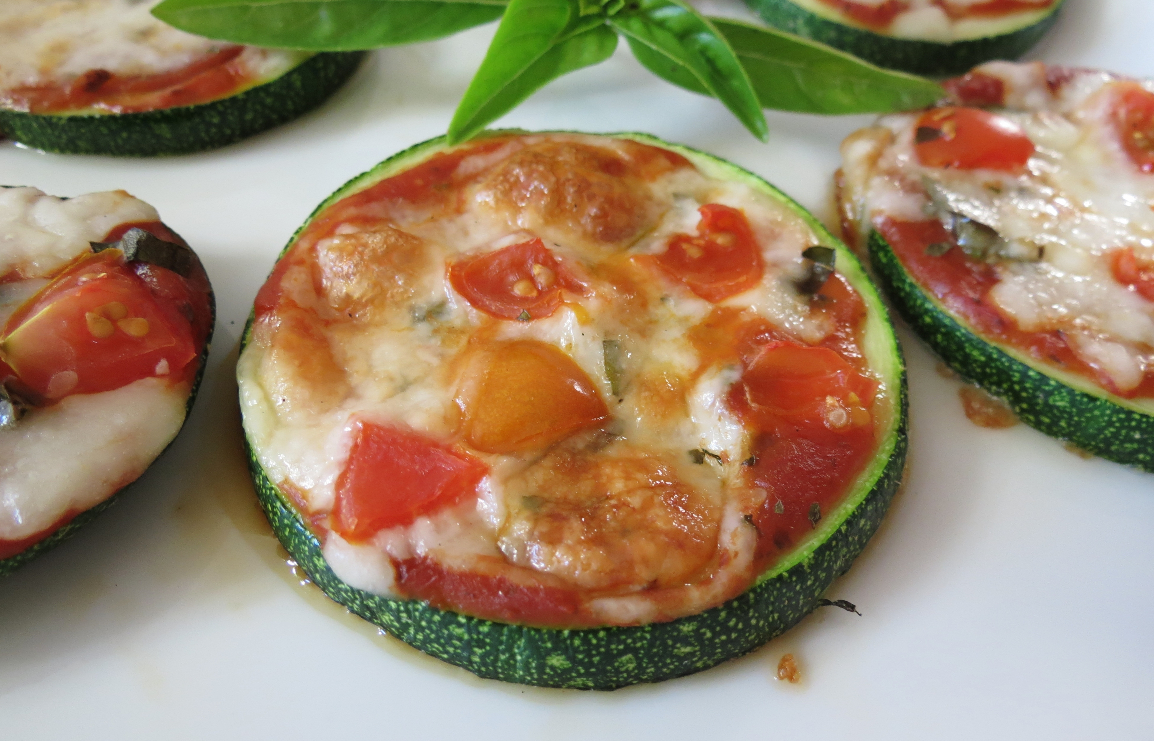 Grilled Zucchini Pizza | Peanut Butter and Peppers