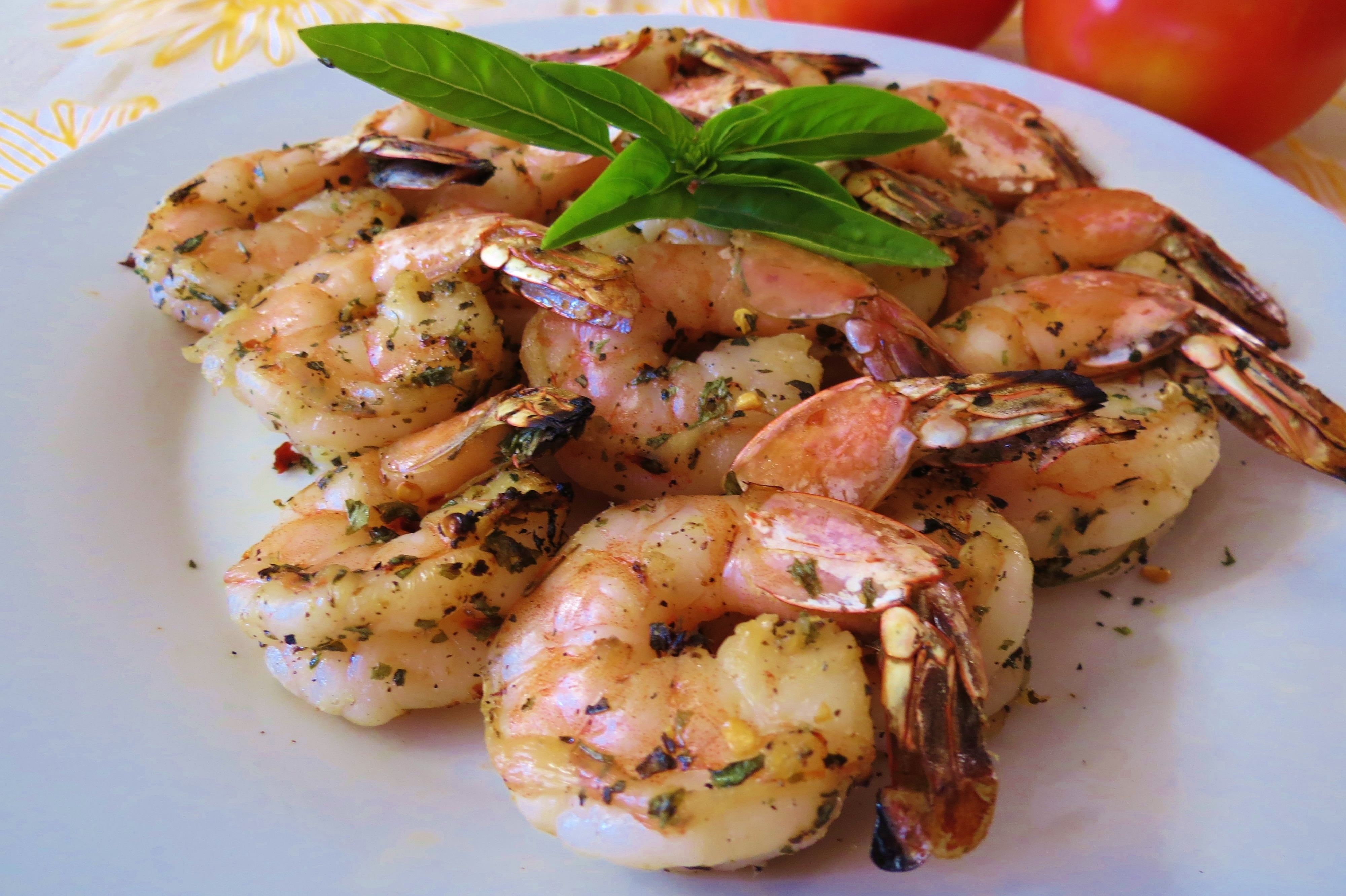 Italian Grilled Shrimp Kabob's