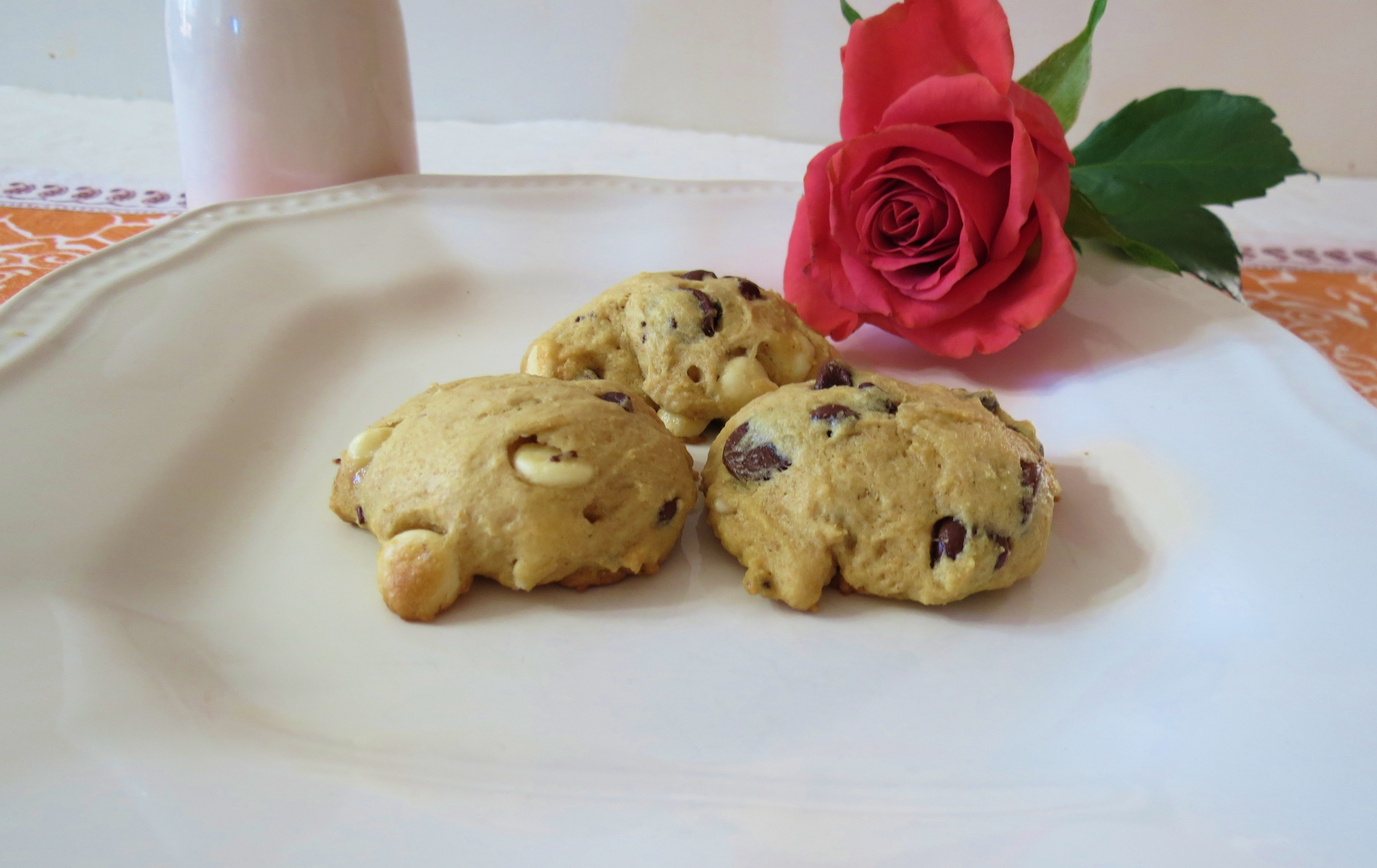 Chocolate Chip Medley Yogurt Cookies