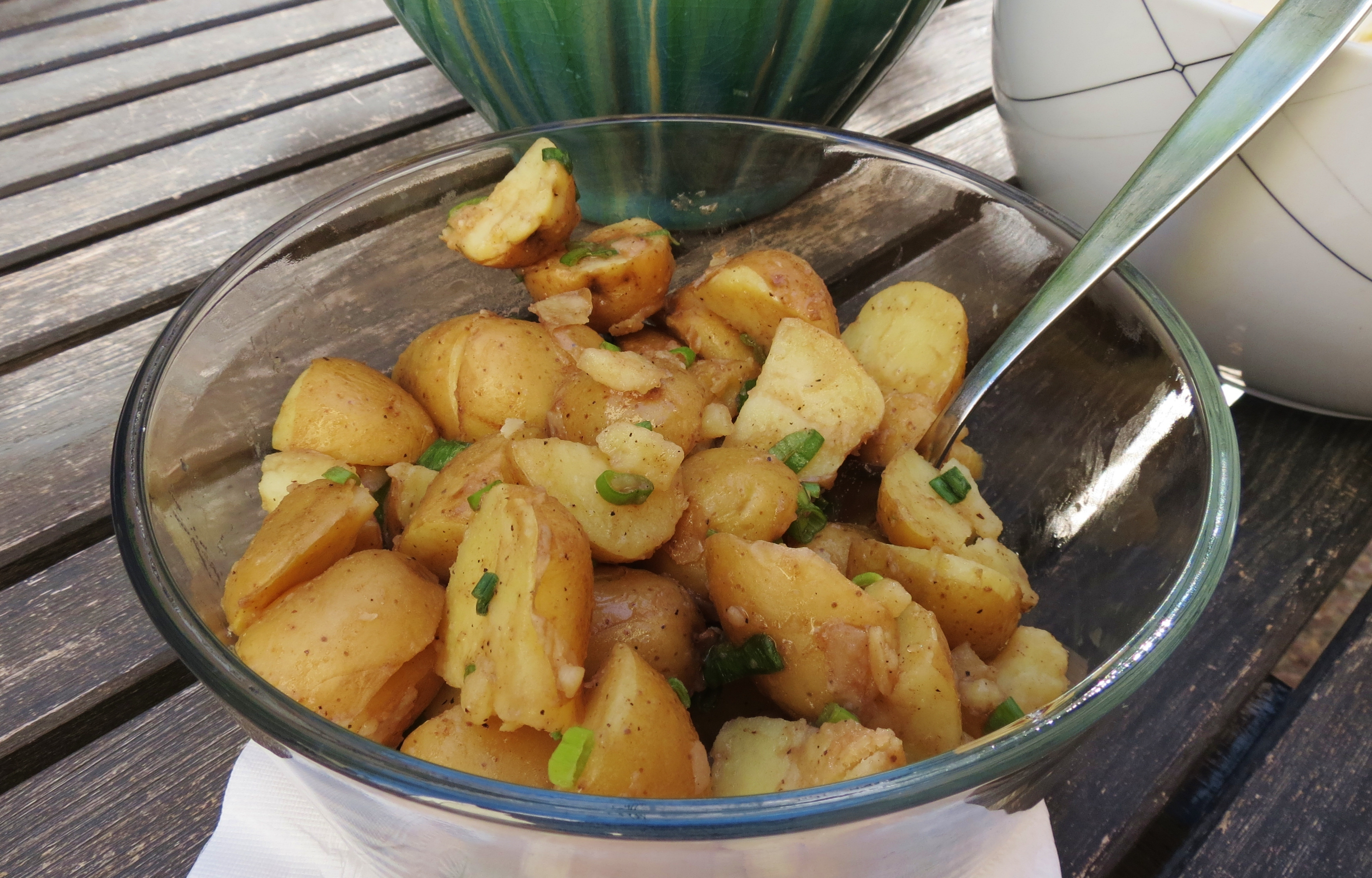 Potato Salad with Balsamic Dressing