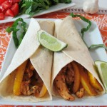 Garlic Lime Chicken Fajitas