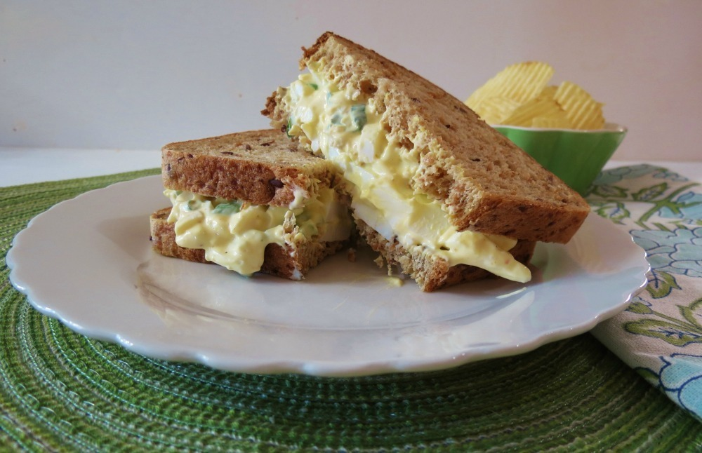 Egg Salad Supreme / Giveaway | Peanut Butter and Peppers