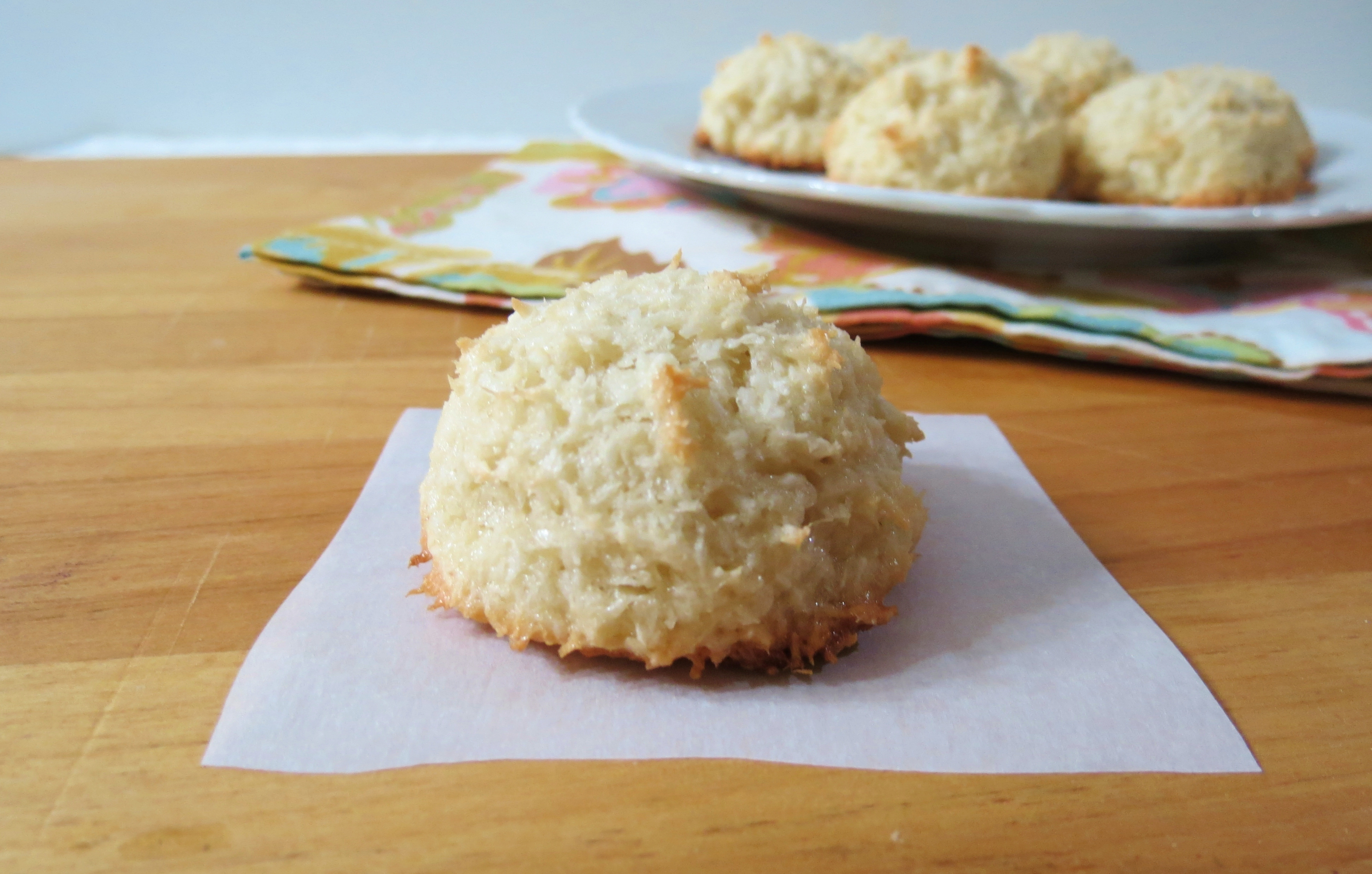 Coconut Macaroons | Peanut Butter and Peppers