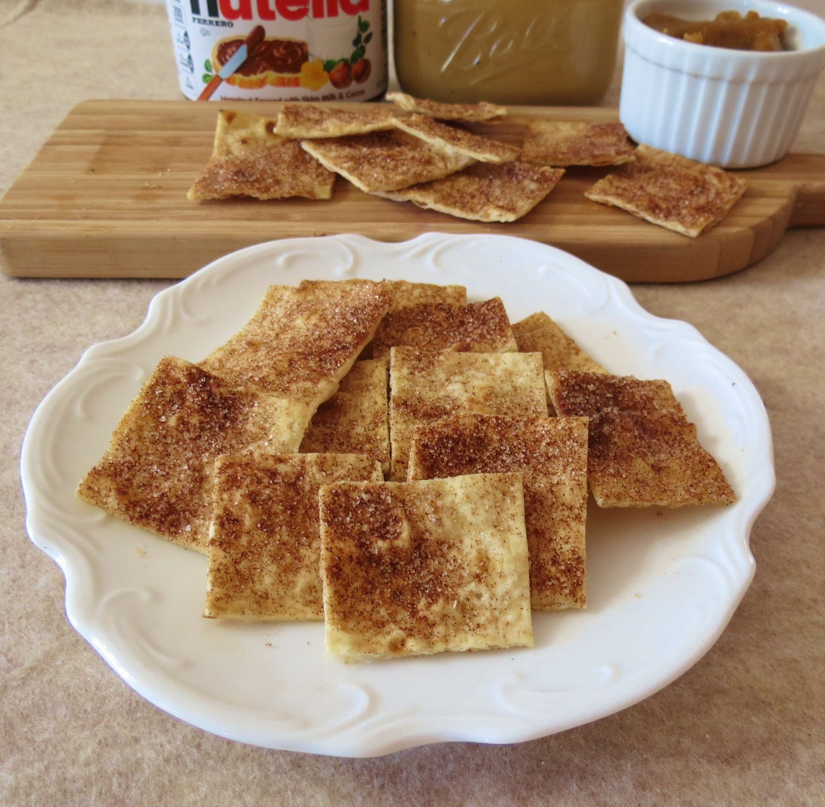 Cinnamon and Sugar Lavash Chips