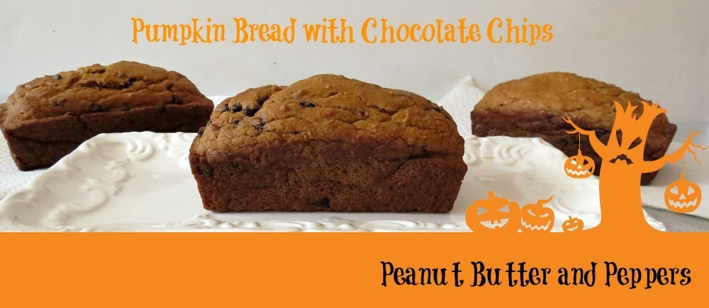 ... . Let me introduce to you Pumpkin Bread with Chocolate Chips! Yum