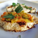 Coconut Chicken with Mango Chutney