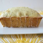 Almond-Poppy Seed Pound Cake with Lemon Neufchatel