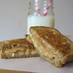 Peanut Butter, Banana and Honey Grilled Sandwich