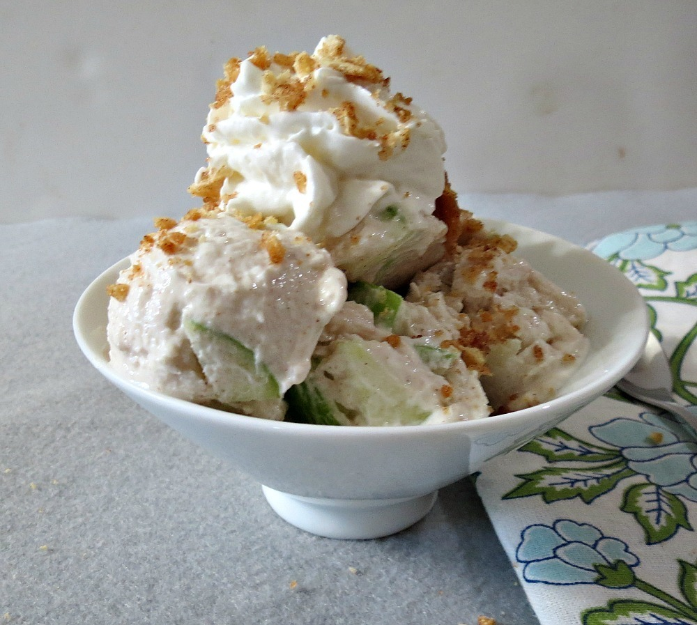 Apple Pie Frozen Yogurt