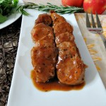 Maple Glazed pork tenderloin, Cookie Swap 024a