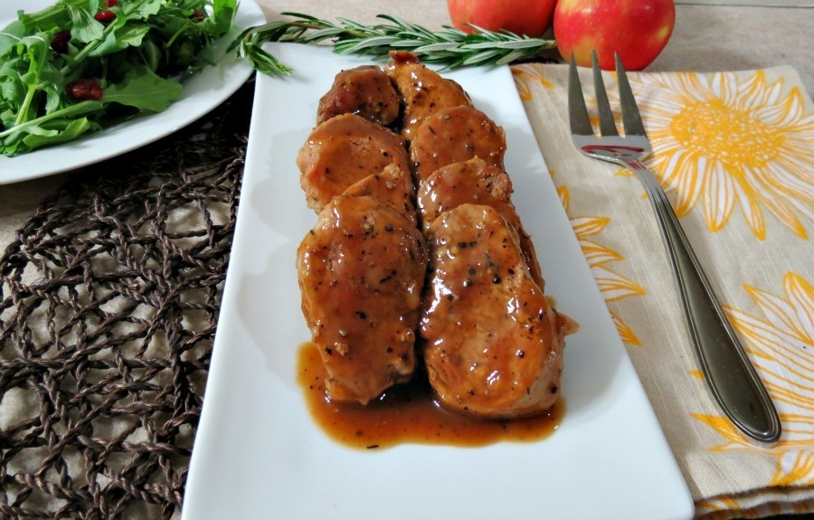 Apple Maple Glazed Pork Tenderloin