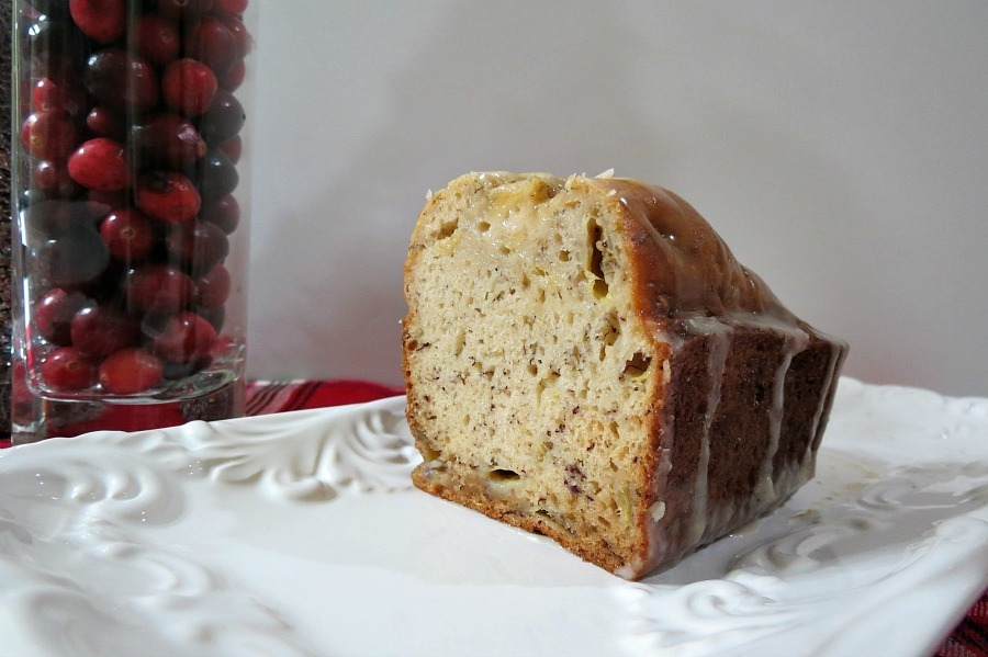 recipe: banana bread with rum glaze [15]
