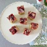 eggnog bread, plum jam brownies 044a