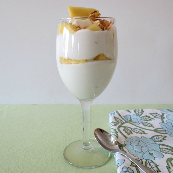 PIna Colada Greek Yogurt