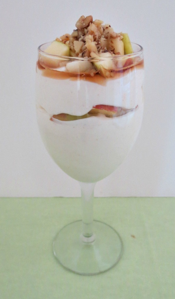 Apple Cinnamon and Maple Syrup Greek Yogurt
