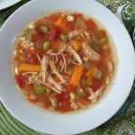Chicken Vegetable Soup / Weekly Recap