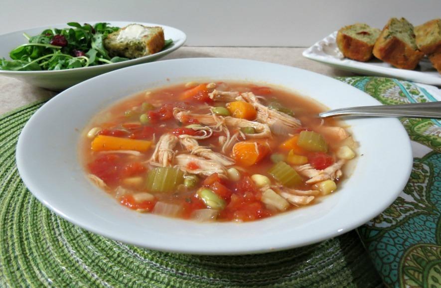 Chicken Vegetable Soup Weekly Recap
