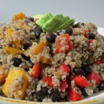 quinoa buttrnut squash and black beans 005a