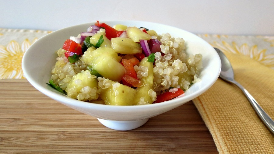 Quinoa and Pineapple Salsa