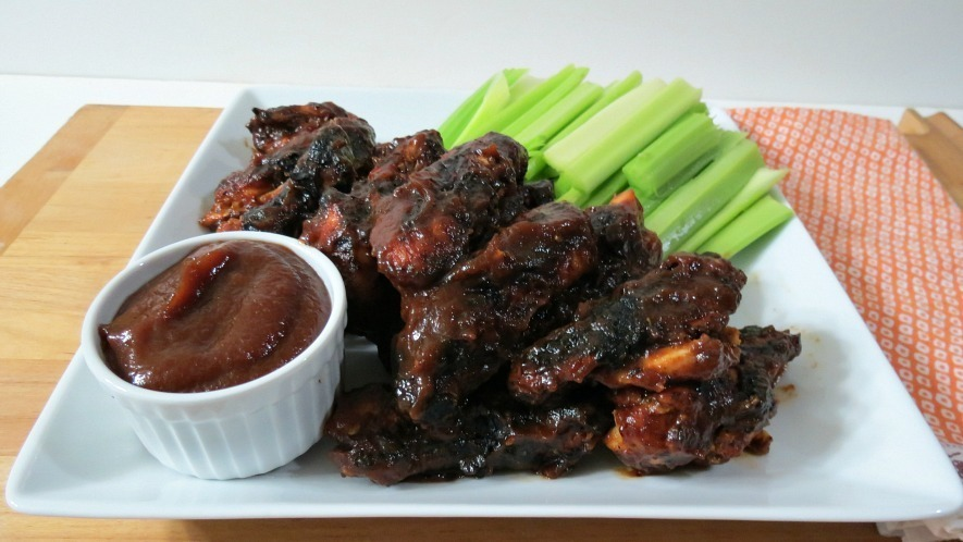 Grilled Sweet &amp; Spicy Chicken Wings