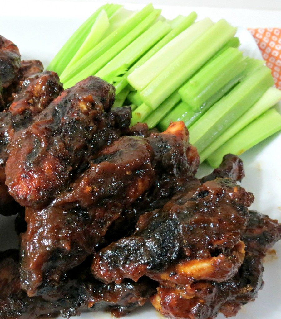 Grilled Sweet &  Spicy Chicken Wings