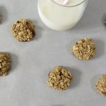 Cinnamon and Raisin Granola Cookies