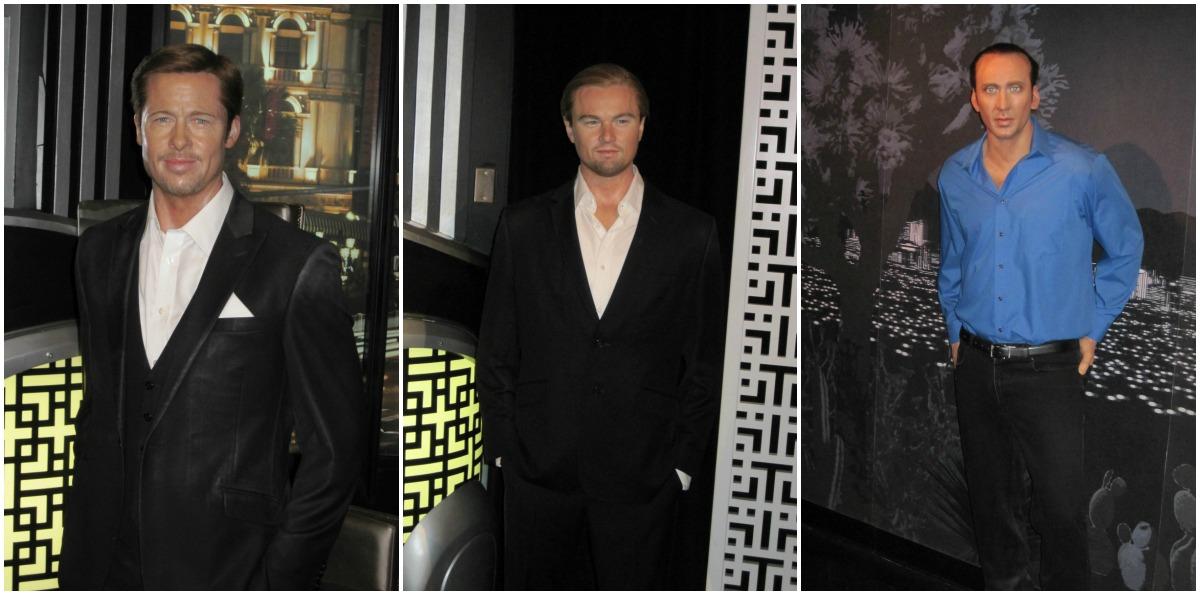 Brad Pitt, Leo, Nick Cage