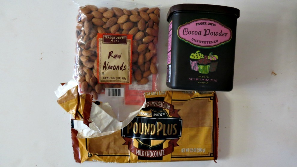 Chocolate Covered Almond Ingredients