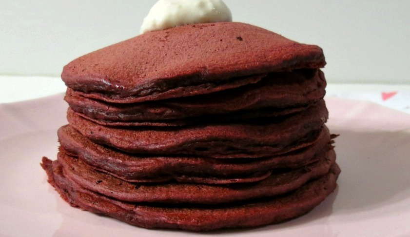 home images red velvet pancakes # sundaysupper red velvet pancakes ...