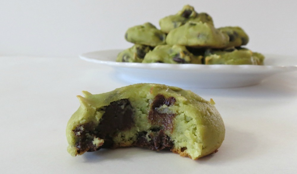 chocolate chip avocado cookies