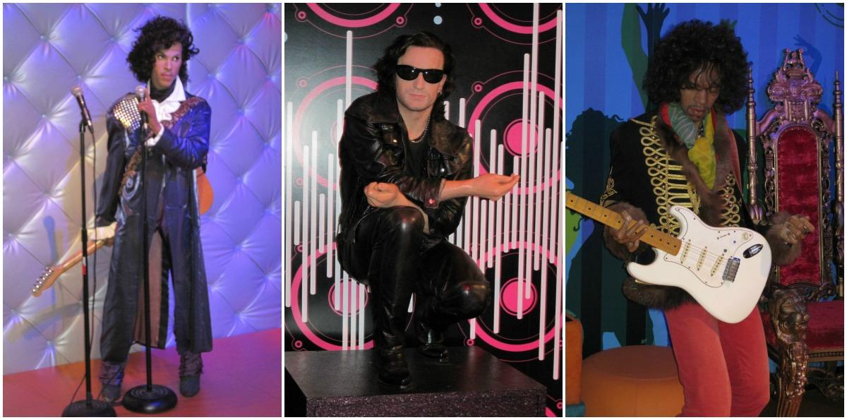 prince, Bono, Hendrix