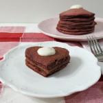 Red Velvet Pancakes – #SundaySupper