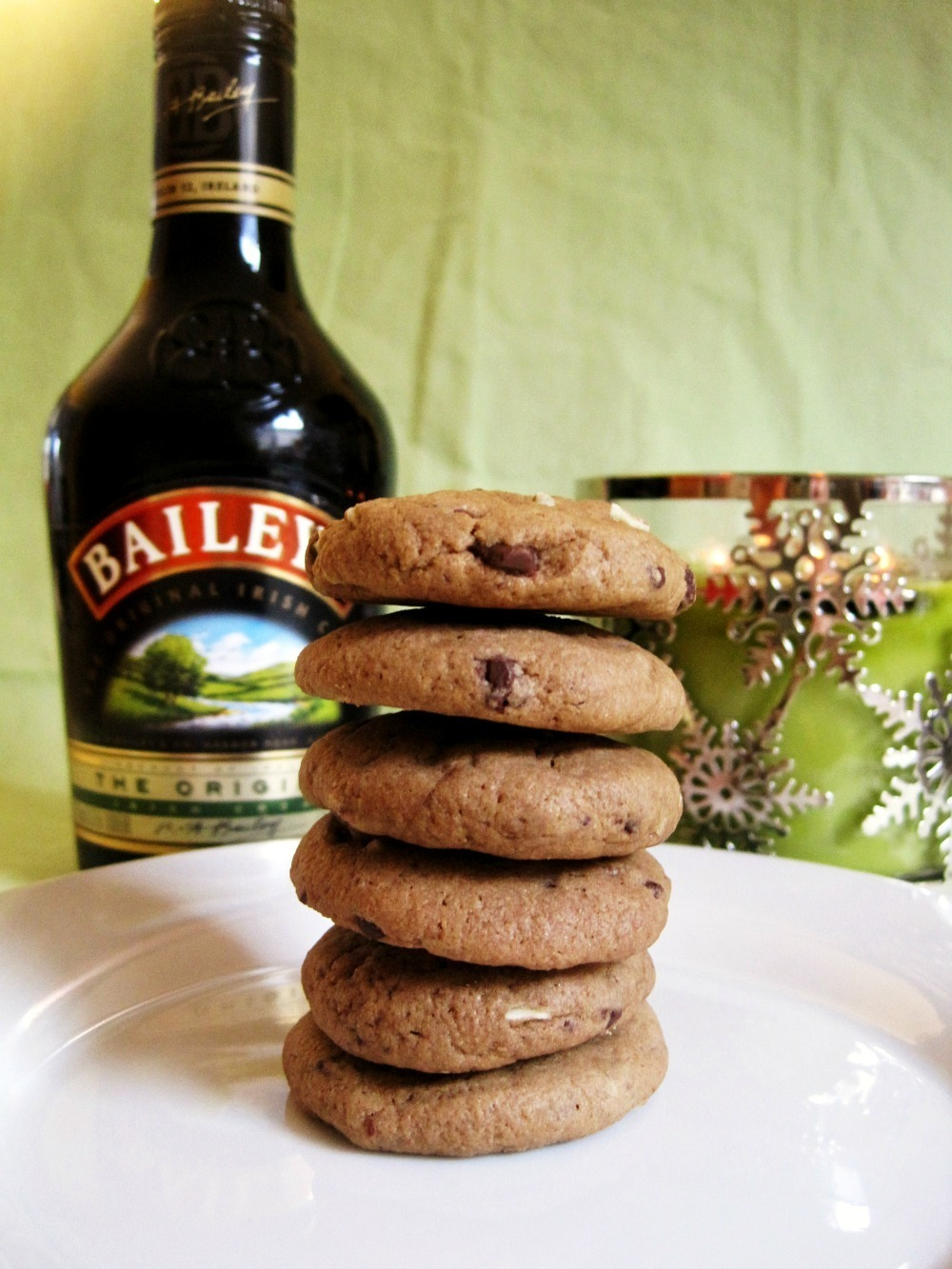 Baileys Chocolate Mint Cookies